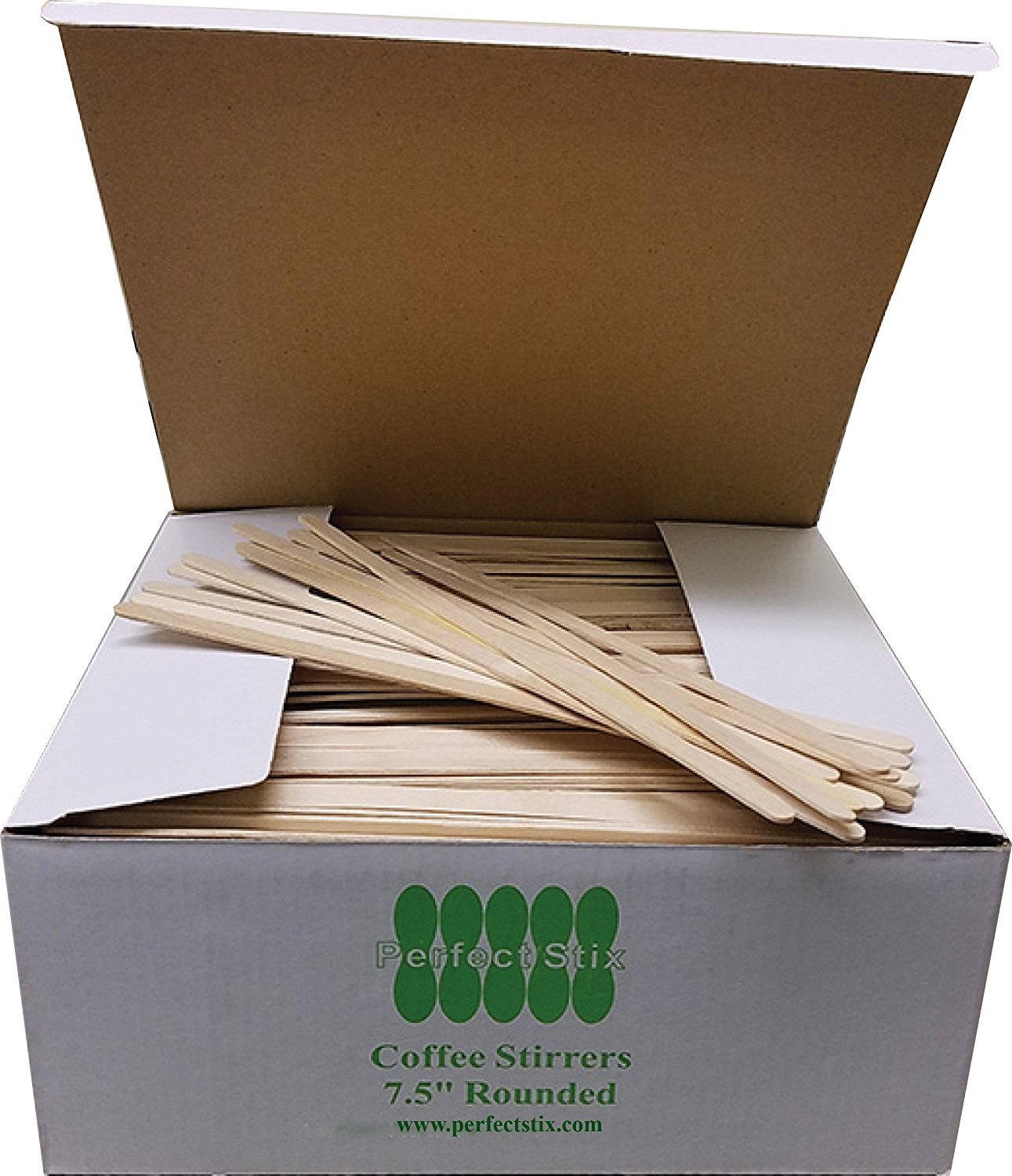 Perfect Stix Wooden Coffee Stirrer Stix, 7-1/2'' Length (Pack of 10,000)