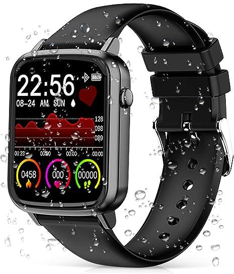 LIGE Smart Watch Men Watch Sports Fitness Tracker For Android ios LED Heart Rate Sphygmomanometer Waterproof Smart Watch Women