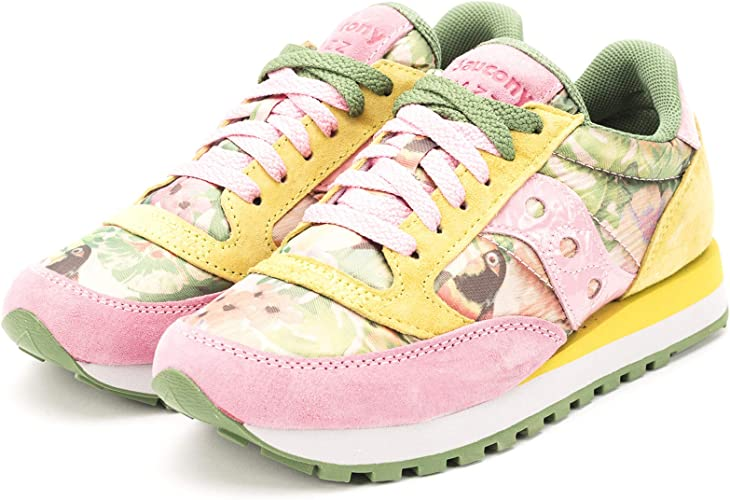Saucony Sneakers Jazz O' Donna PinkYellowFloreal