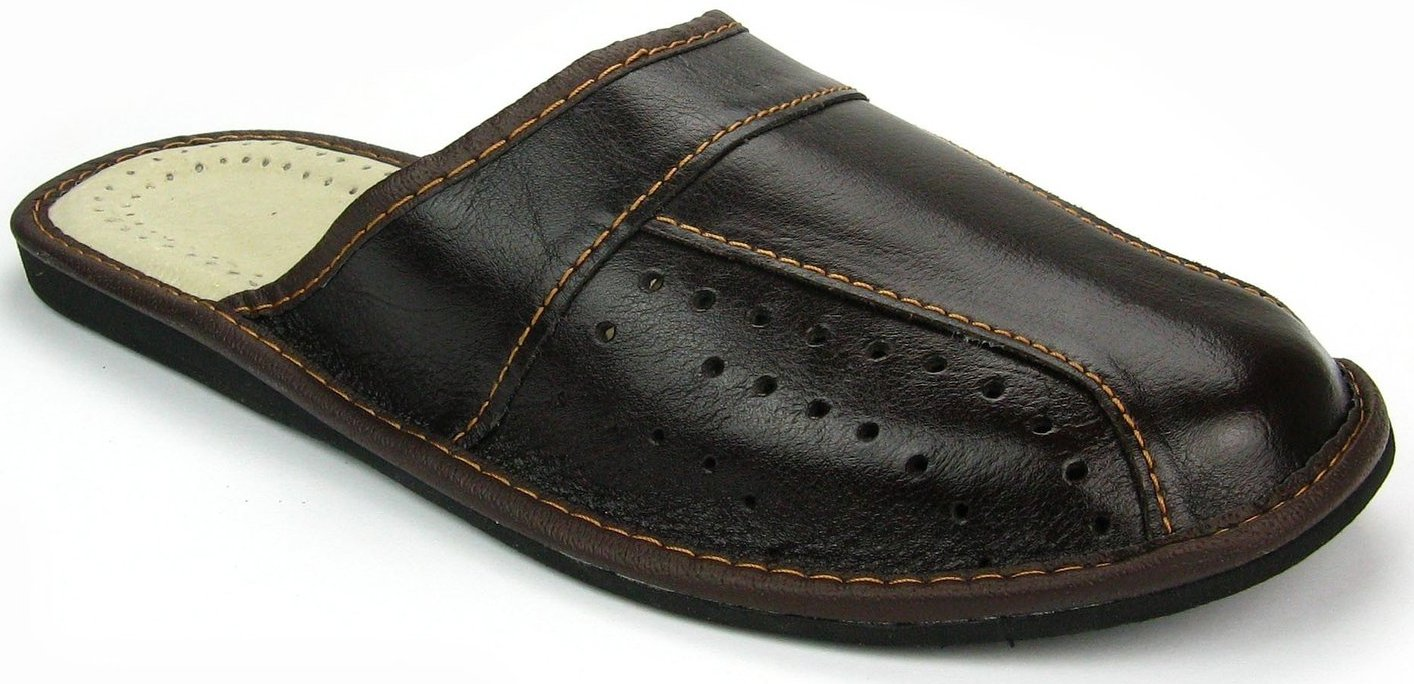 Mens House Slippers | Genuine Leather | 02 (10)