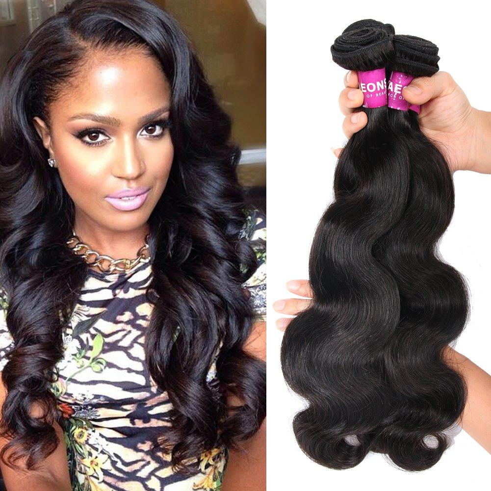 Amazon Yaeons Hair Peruvian Hair 3 Bundles Body Wave Grade 5a
