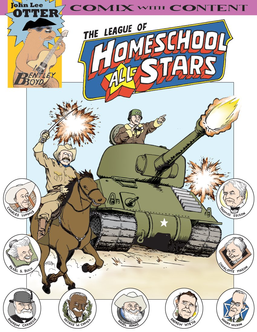 Homeschool All-Stars (Comix With Content)