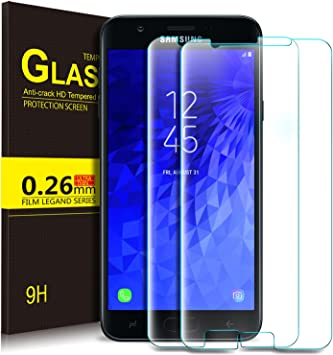 KuGi Samsung Galaxy J7 2018 Protector de Pantalla, Cristal ...