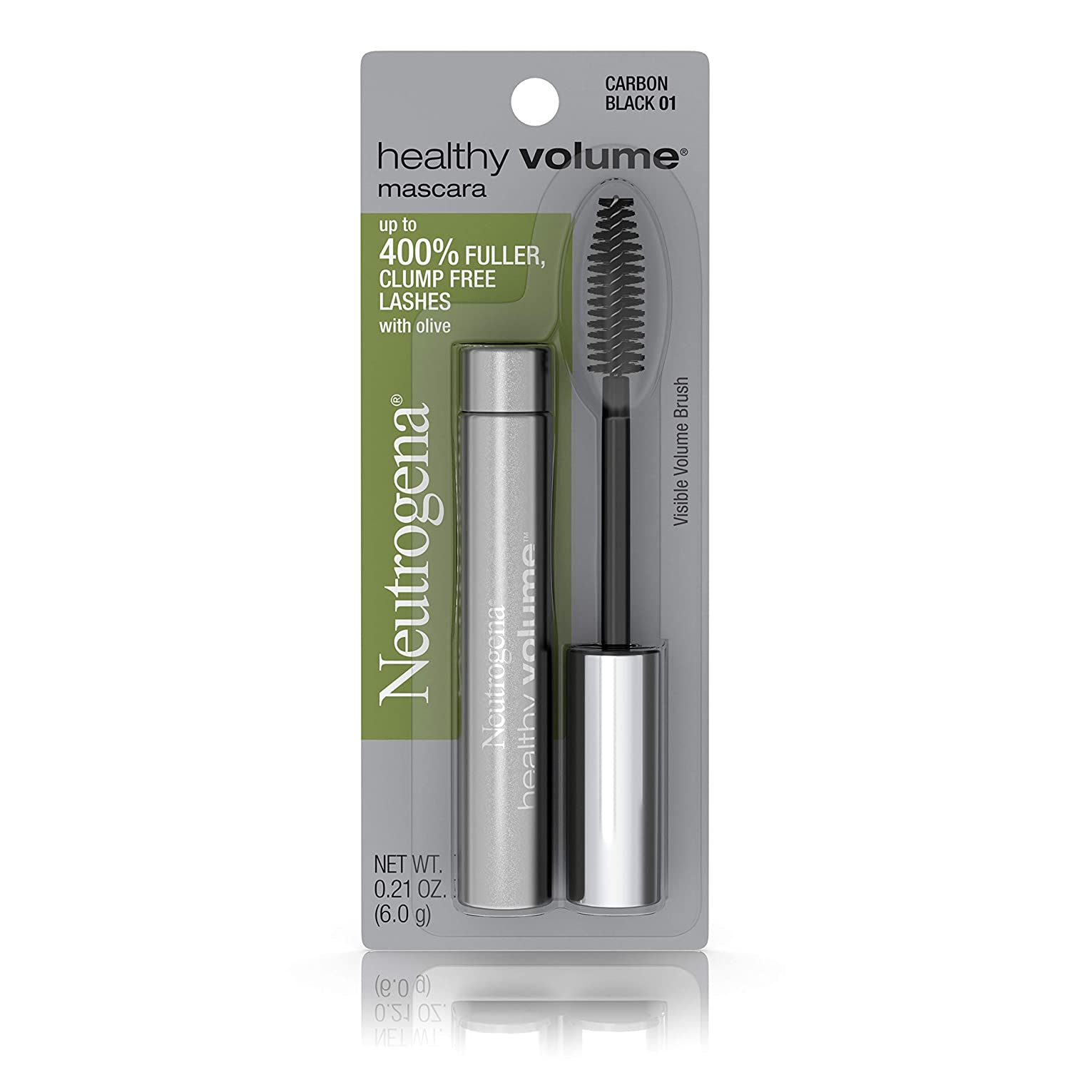 Neutrogena Healthy Volume Mascara, Carbon Black 01,.21 Oz.
