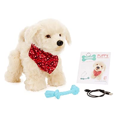 Georgie - Interactive Plush Electronic Puppy: Toys & Games