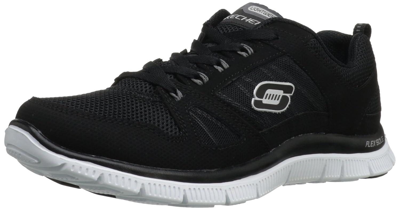 Skechers Flex Appeal Spring Fever Damen Sneakers  35.5 EU|Schwarz (Bkw)
