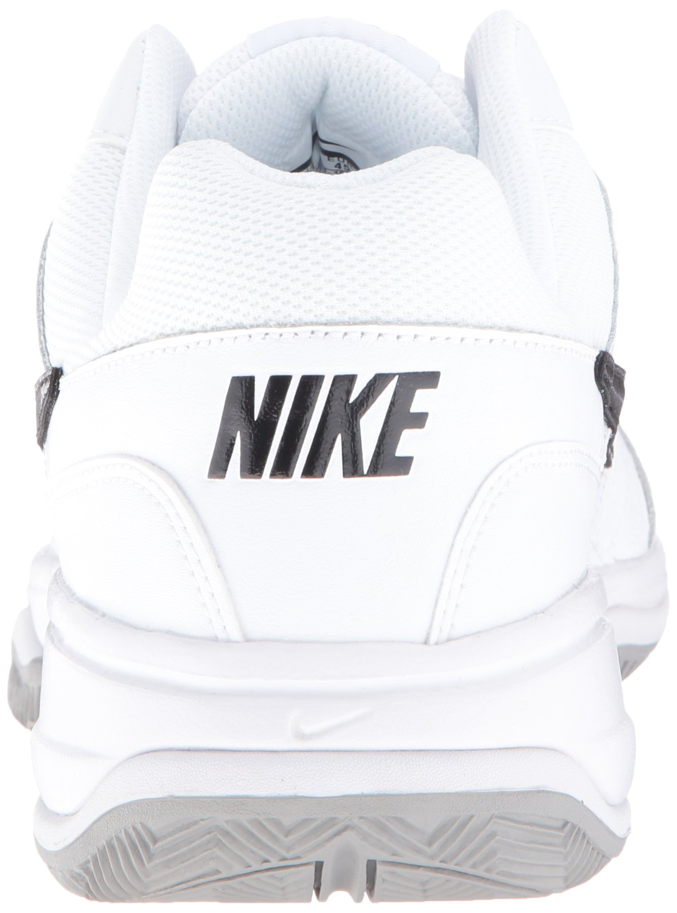 NIKE Men's Court Lite Tennis Shoe, White/Medium Grey/Black, 6.5 D(M) US by Nike (Image #2)