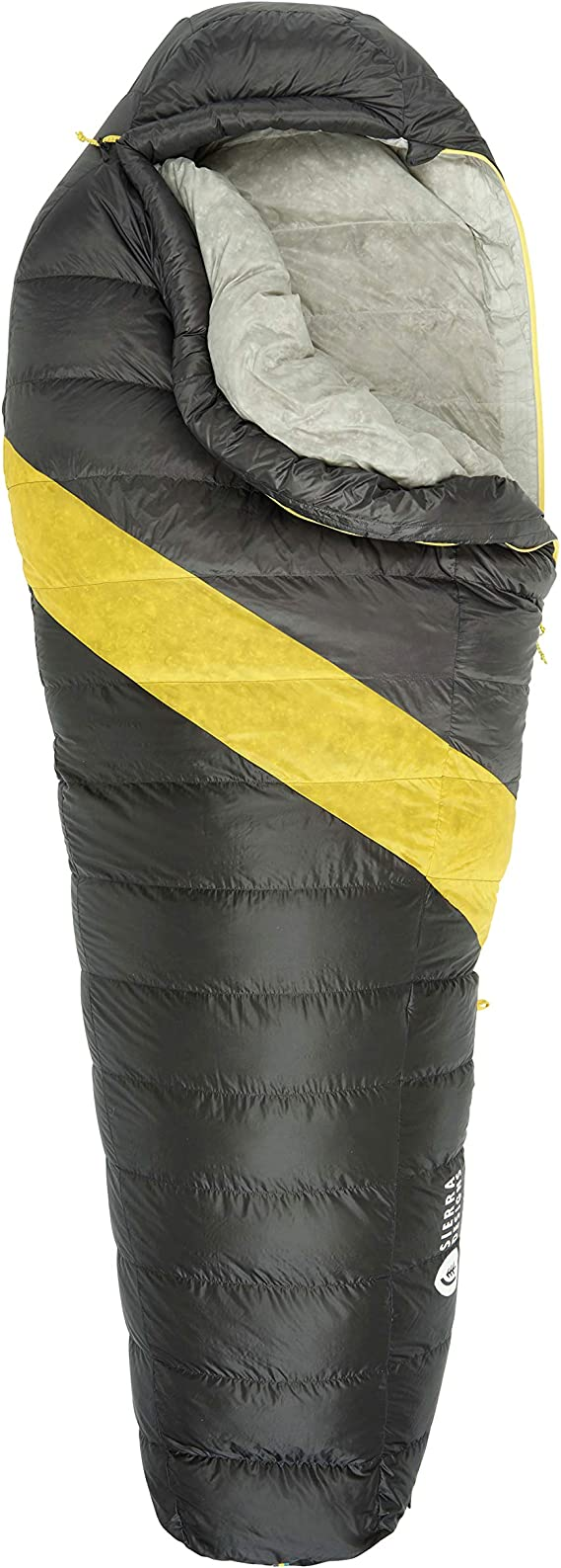 Sierra Designs Nitro 0 Degree DriDown Sleeping Bag Ultralight Down Sleeping Bag for Backpacking and Camping for Men & Women