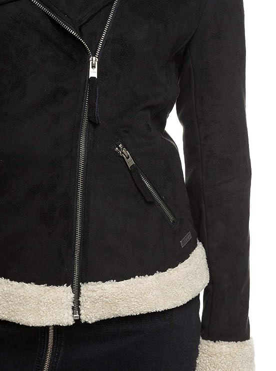 Aviateur Et Roxy Accessoires Games Erjjk03259 Femme Gateway Vêtements  Synthétique Suède Blouson En Pour Roxy UppwtO7xW5 fd1db0cc592