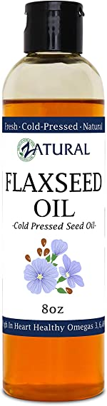 Flaxseed Oil - 100% Pure Flax Seed Oil - 0 Additives