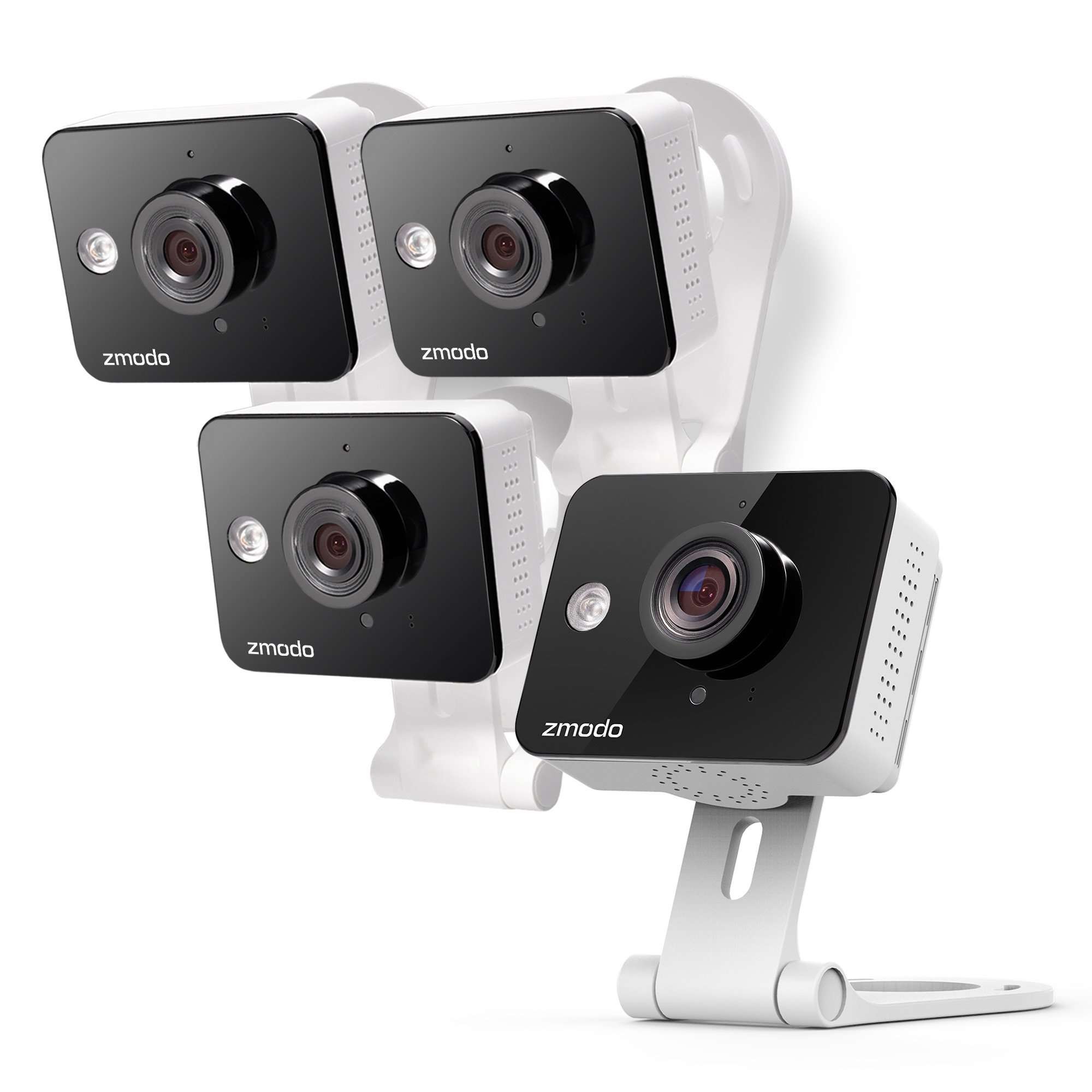 Zmodo Wireless Two-Way Audio HD Home Security Camera (4 Pack) with Night Vision by Zmodo