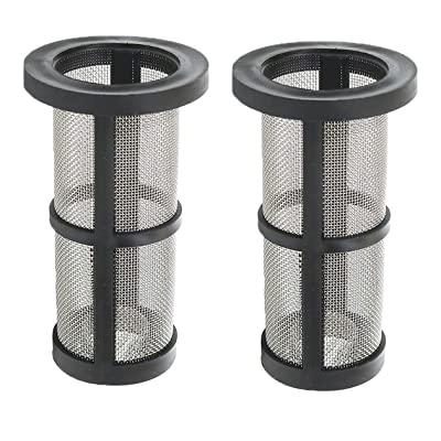 ATIE in-Line Filter Screen 48-222 Replacement Compatible for Zodiac Polaris 180, 280, 380, 3900 Model Pool Cleaner in-Line Filter Screen 48-222 (2 Pack): Garden & Outdoor