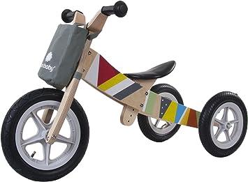 Sun Baby E02.001.1.1 - Bicicleta de Madera 2 en 1 para Triciclo y Running: Amazon.es: Juguetes y juegos
