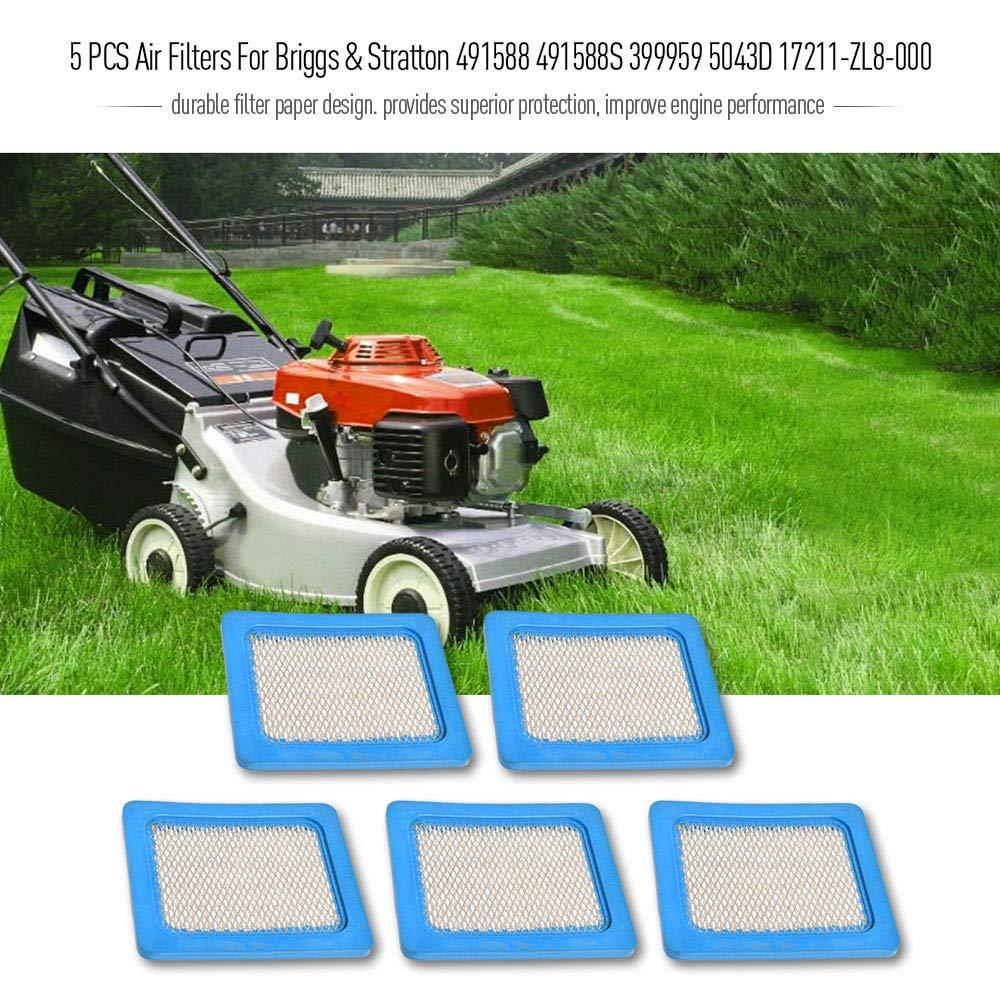Ersatz Briggs /& Stratton 491588 491588S 399959 Quantum Luftfilter Mower Lawn