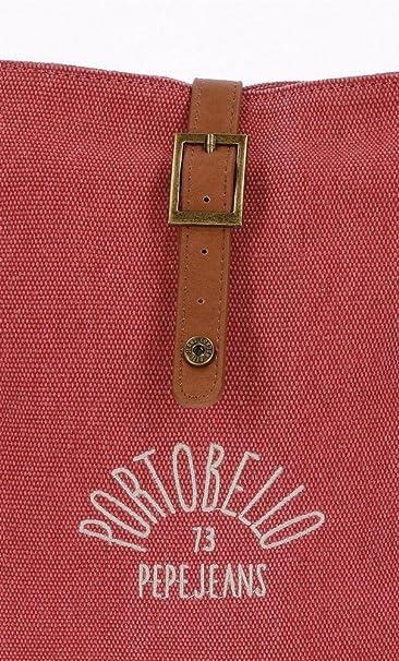 Pepe Jeans Porto Bolso Bandolera, 31 cm, 13.39 litros, Rojo ...