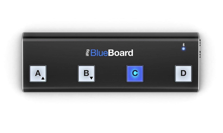 IK Multimedia iRig BlueBoard | Bluetooth Wireless MIDI pedalboard IPIRIGBBRDIN