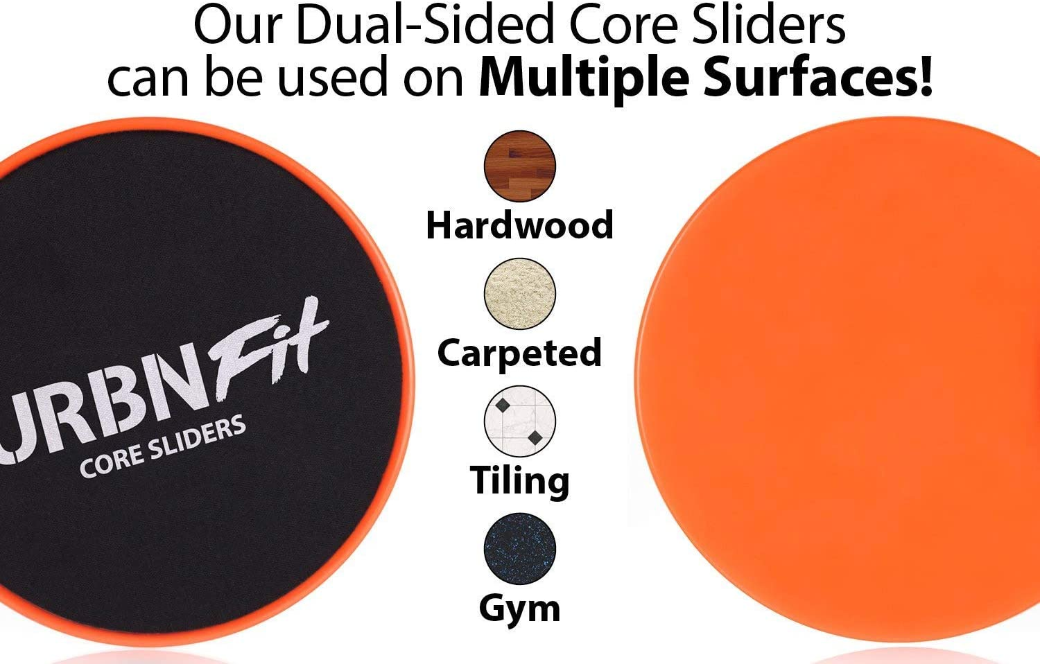 Arms Back Fitness Exercise Equipment Gliders for Workout Legs VECH 2 Pack Gliding Discs Core Sliders Abs at Home Dual Sided Exercise Disc for Smooth Sliding On Carpet and Hardwood Floors