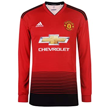 5a2ba5eb Manchester United Home Jersey L/S 2018/19, Shorts - Amazon Canada