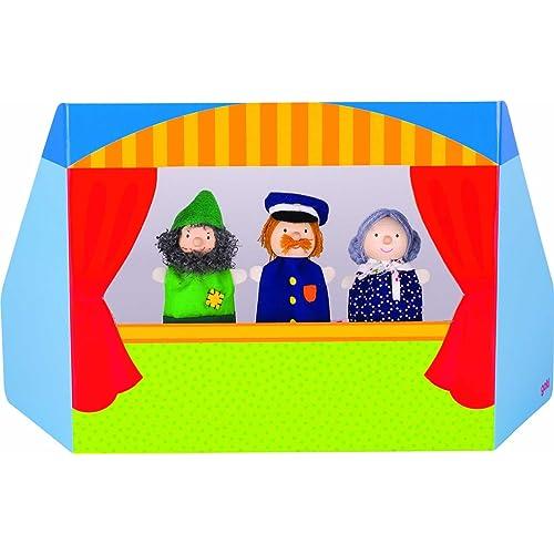 Jouetprive-Marionnettes à doigts le petit royaume Sandra