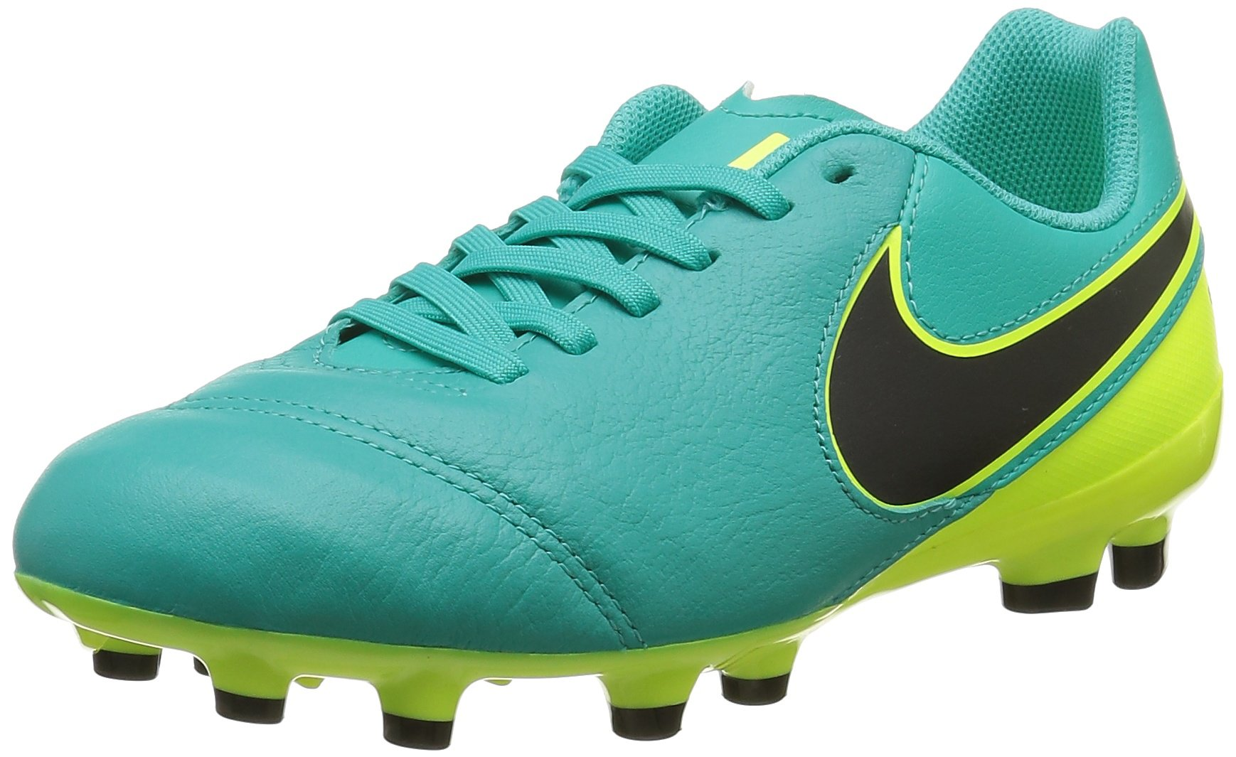 Nike Youth Tiempo Legend Vi Firm Ground  Pure Platinum Black  product image d7fa640ab23