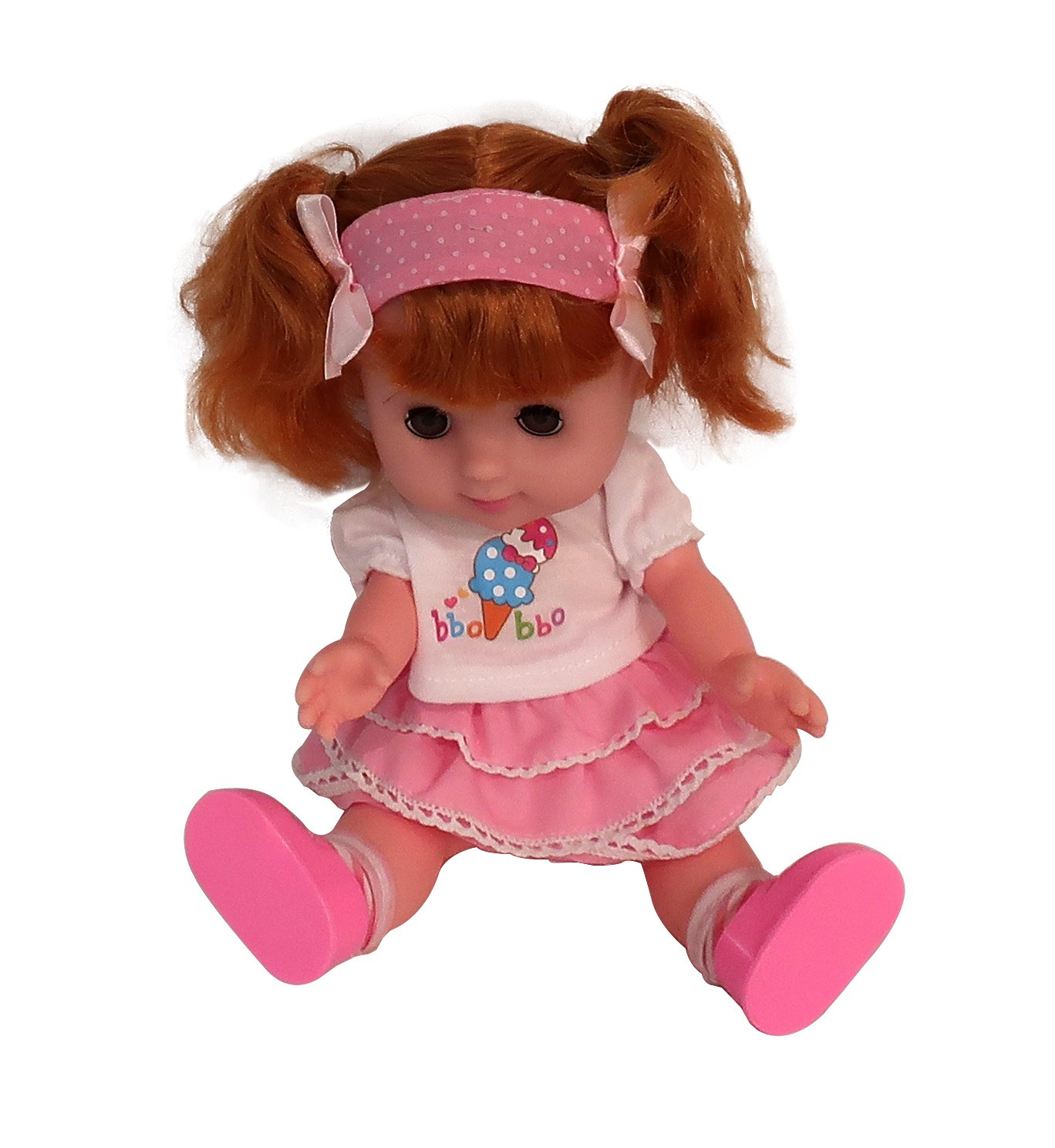 Amazon.com: Cute Girl Doll and Push Stroller Buggy with ...