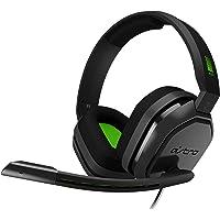 ASTRO A10 - Diadema para Gaming, Gris/Verde, Edición Platino, Xbox One, PC y Mac