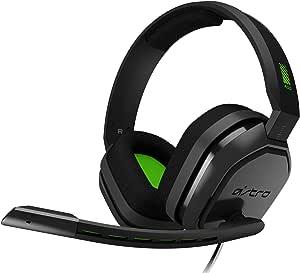 Headset Astro Gaming A10 Para Xbox, Playstation, Pc, Mac - Preto/Verde