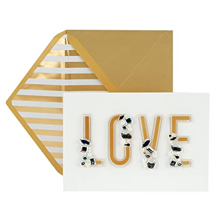 Amazon Hallmark Signature Love Card True Anniversary