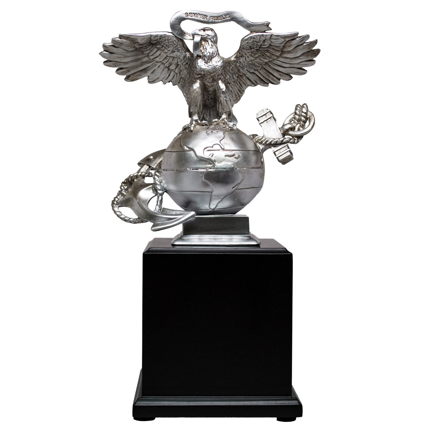 USMC 3D Eagle Globe & Anchor Marine Corps Statue by Military Gift Shop