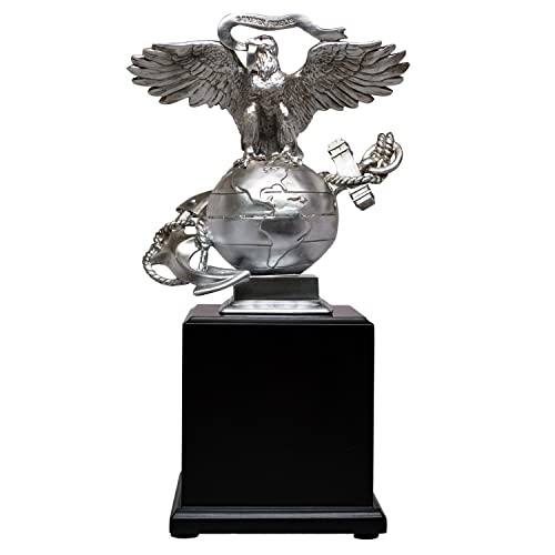 USMC 3D Eagle Globe & Anchor Marine Corps Statue