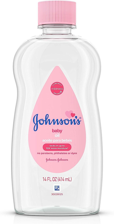 Johnson's, Baby Oils, Original 14 fl. oz: Health & Personal Care
