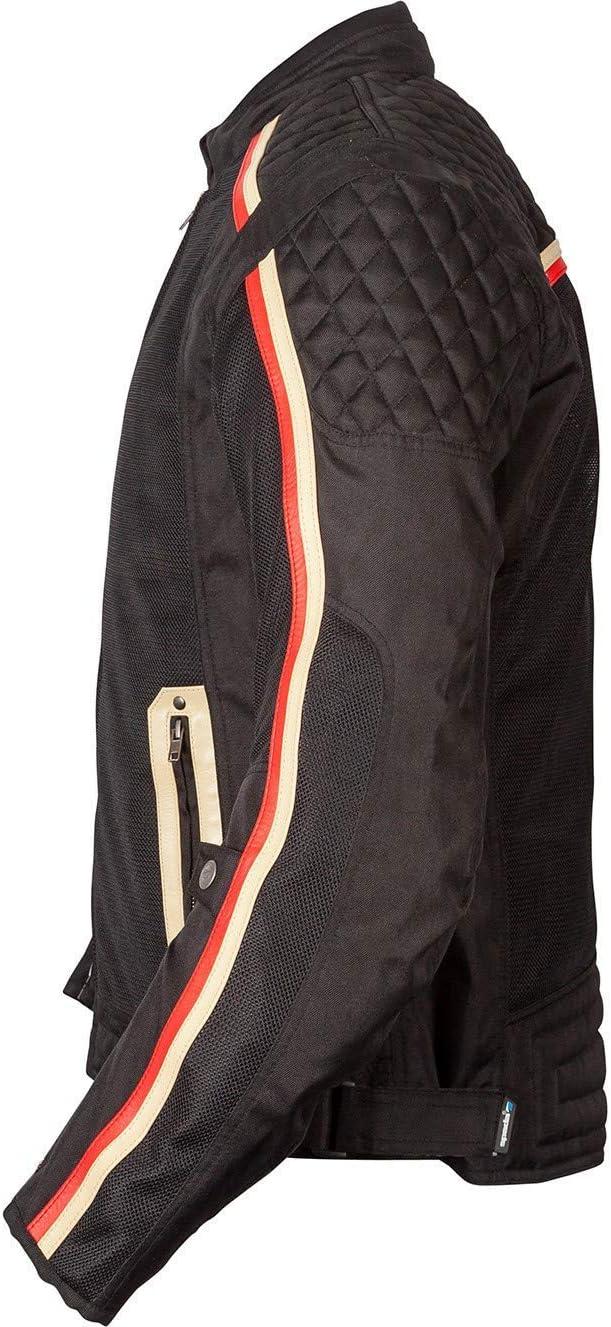 Spada Utah Winds Motorcycle Jacket 3XL Black