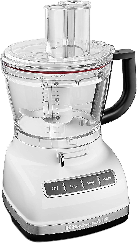 KitchenAid KFP1466WH Negro, Blanco - Robot de cocina (Negro, Blanco, 304,8 mm, 277,8 mm, 431,8 mm): Amazon.es: Hogar