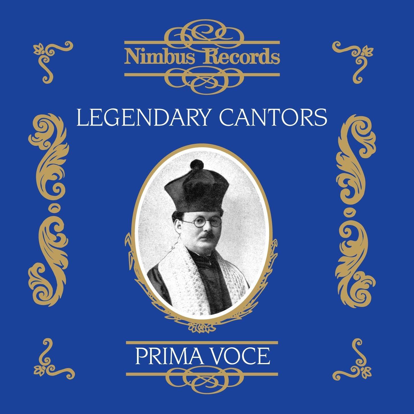 Legendary Cantors / Various