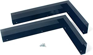 Whirlpool W10164739 Microwave Side Panel Kit, BLACK