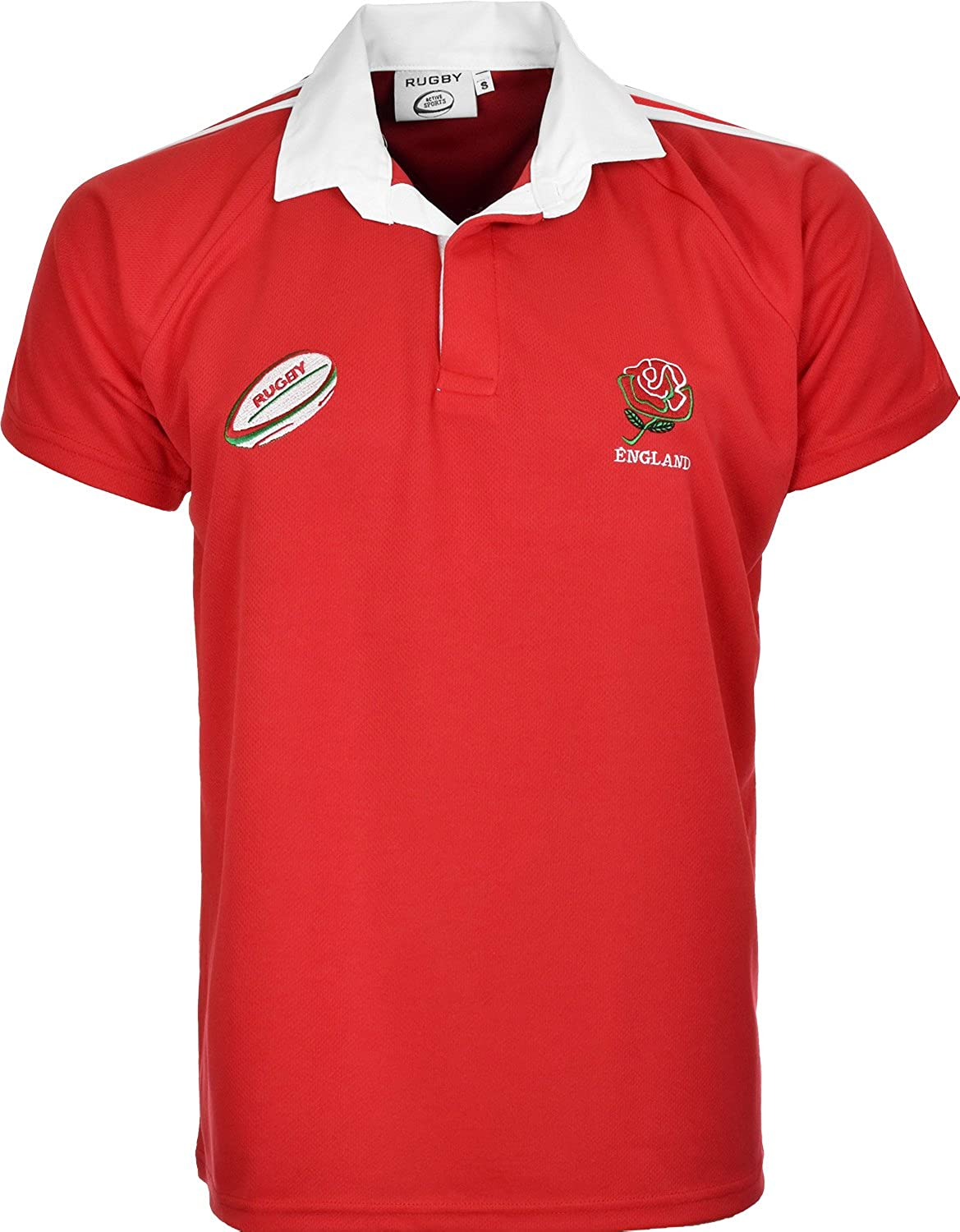 Activewear England Rugby World Cup Fan Shirts 2015 Size S to 2XL NMERFS01