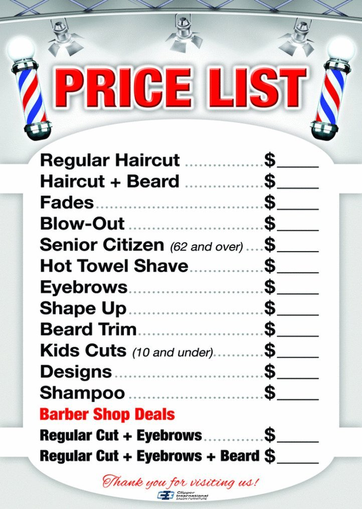 Amazon.com: Barber Shop Posters In A Combo by Clipper Int\'l ...