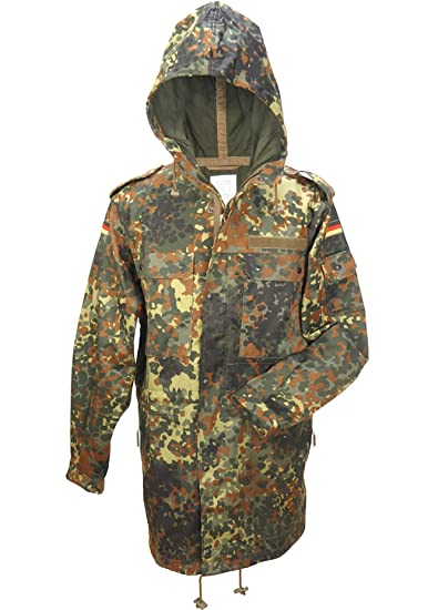 6dc11cae33efc A. Blöchl Field Parka of The German Bundeswehr excluding Lightweight Jacket  The German Army Field Jacket Without Food Camouflage Windshield Sizes 1-20