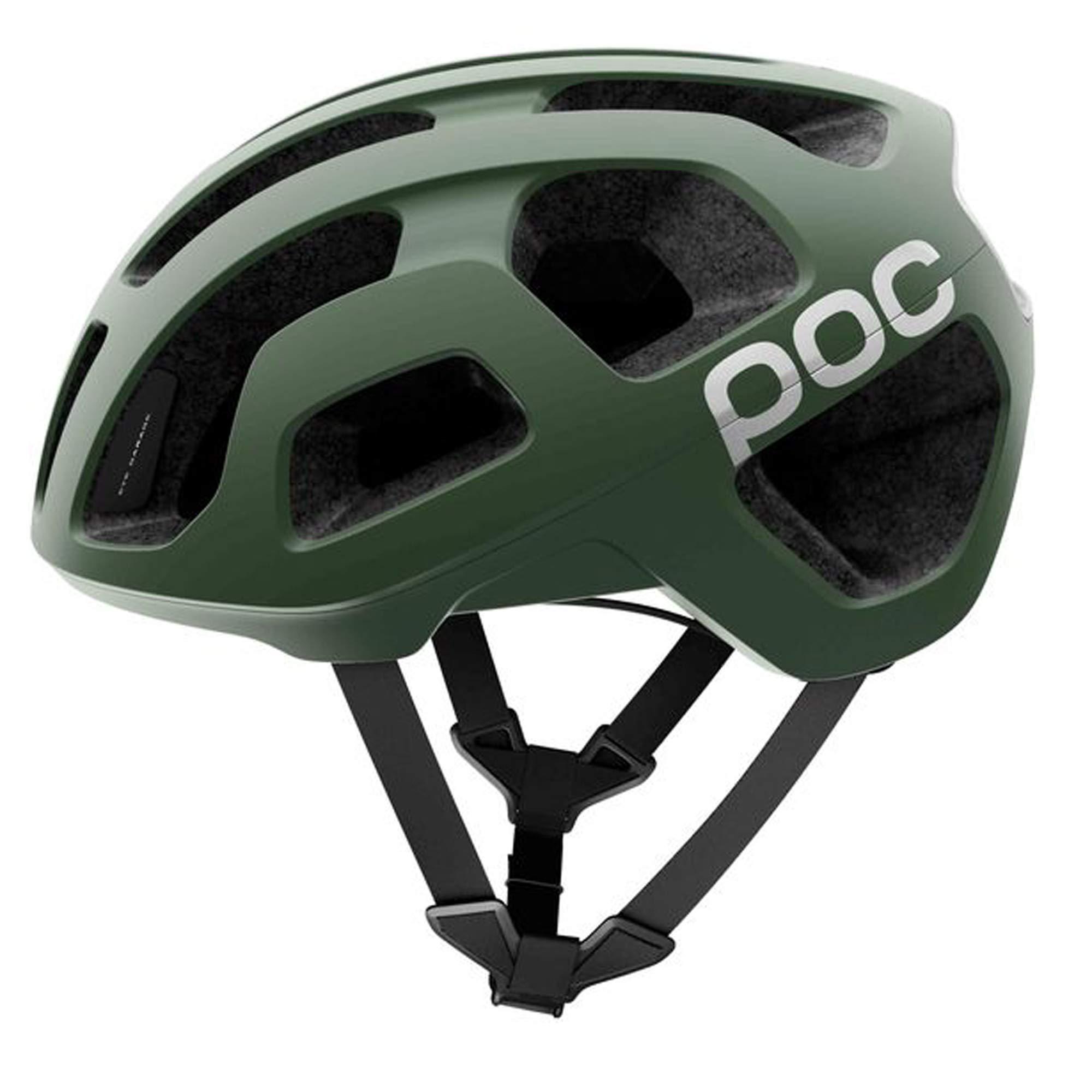 POC Octal, Helmet for Road Biking, Hydrogen, Septane Green, S
