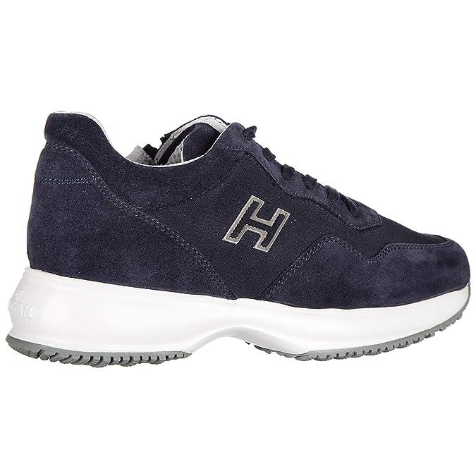 Hogan Scarpe Sneakers Bimbo Bambino camoscio Nuove Interactive Blu EU 31  HXC00N0V3118GMU810  Amazon.it  Scarpe e borse 65c67dfd666
