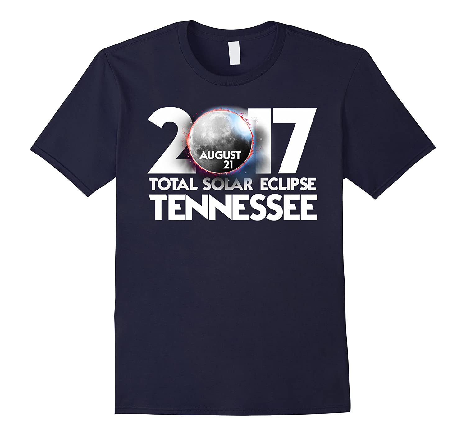 Total Solar Eclipse Tennessee 2017 Totality T shirt-BN