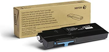 Cyan, 4 Pack MS Imaging Supply Compatible Toner Replacement for Xerox 106R01392