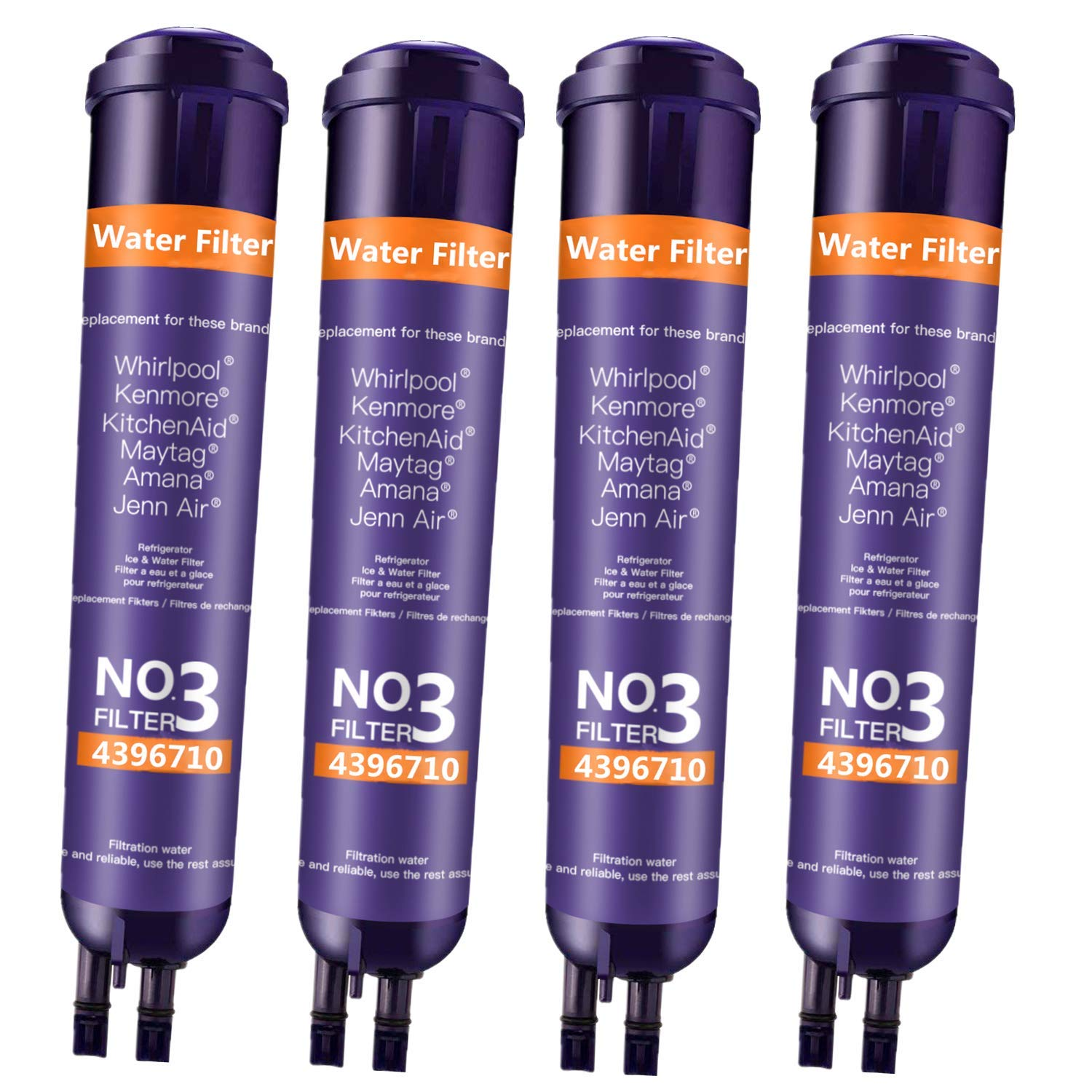 DOBY 46 9020 Water Filter Replacement for Ken_More 46 9083 Water Filter, 46-9030 Water Filter(Purple 4 Pack)