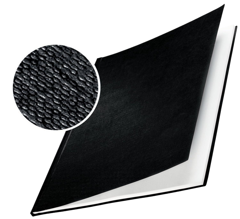 Dorso da 28 mm Superficie in lino Confezione da 10 pezzi ImpressBind Leitz 73970035 Copertine rigide Blu