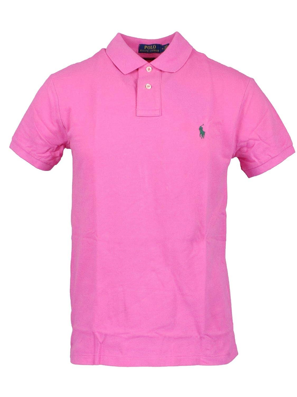 Ralph Lauren Luxury Fashion Hombre 710536856090 Rosa Polo ...
