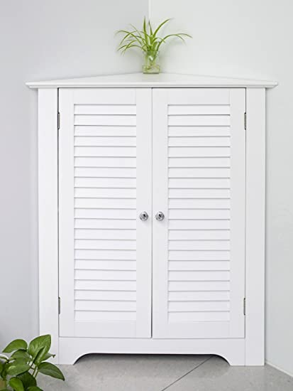 Cool White Storage Cabinets With Doors Decoration
