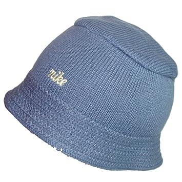 NIKE BUCKET HAT BEANIE - BLUE - UNISEX - MENS WOMENS - S M   M L ... f579529df6