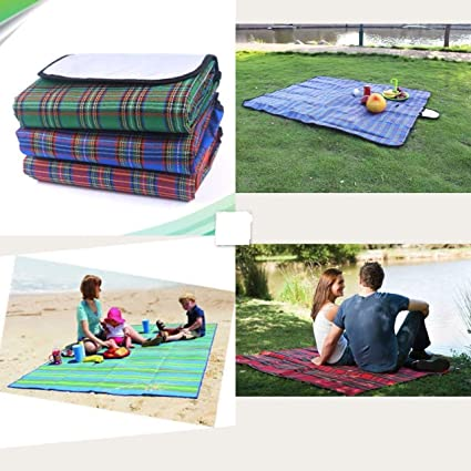 Bhajan Portable Multi Use Water-Resistant Outdoor Picnic Mat Rug for Home Gym Yoga Beach Camping Hiking (Size :-150X180 cm)