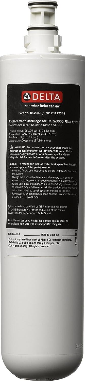 Delta Faucet RP78702 Under Sink Replacement Filter Cartridge