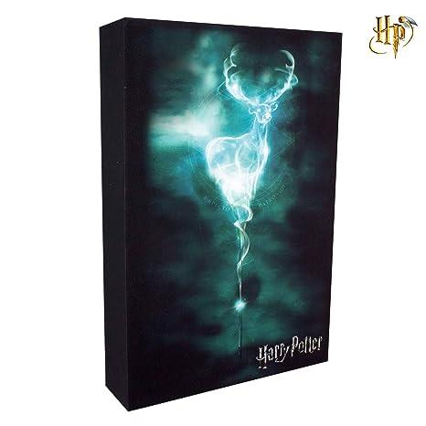Paladone - Harry Potter Lámpara con Expecto Patronum Luminart 100% Original Warner Bros
